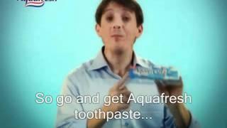 Aquafresh Azer Axham Promo ad