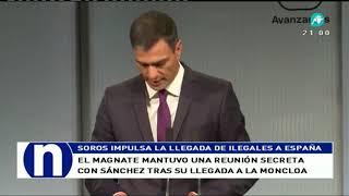 Pedro Sánchez, convertido en el mayordomo de Soros
