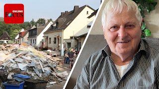 Rentner spendet eine Million für Flut-Opfer - ein Versprechen an seine verstorbene Frau