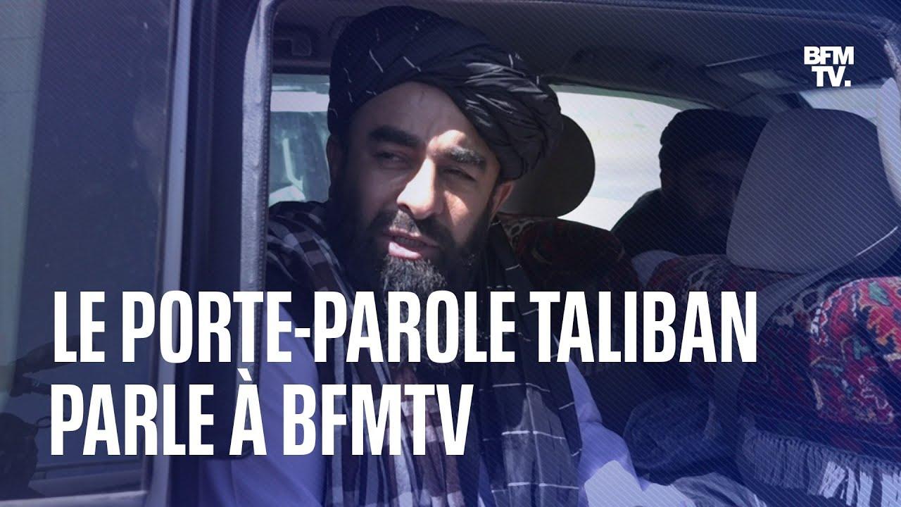 Manifestations réprimées, place des femmes...: le principal porte-parole taliban parle à BFMTV