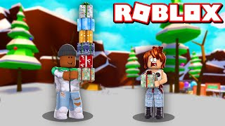 WRAPPING 10,000 CHRISTMAS GIFTS!! | Roblox Present Wrapping Simulator