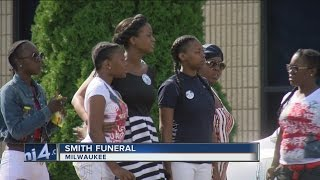 Funeral held for Sylville Smith