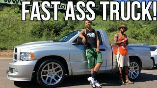 Dodge Ram SRT-10 Viper Truck Review!! From A Tall Guys Perspective..