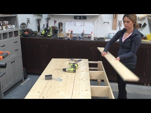 How to Build Wood Tabletop