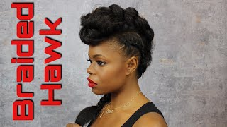 Braided Hawk | Janelle Monae Met Ball Inspired |MariaAntoinetteTV