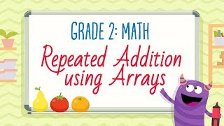 Download Youtube: Worksheet: Repeated Addition using Arrays | 2nd Grade Math Worksheets | Kids Academy