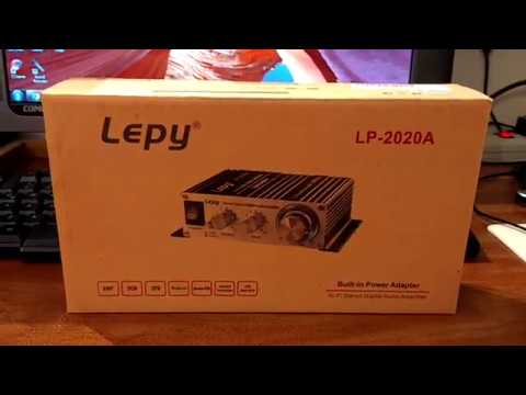 MINI AMPLIFICADOR ESTEREO LEPY LP-2020A (REVIEW/REVISION).