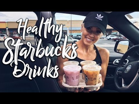 Video Starbucks: My Top 5 Healthy Drinks