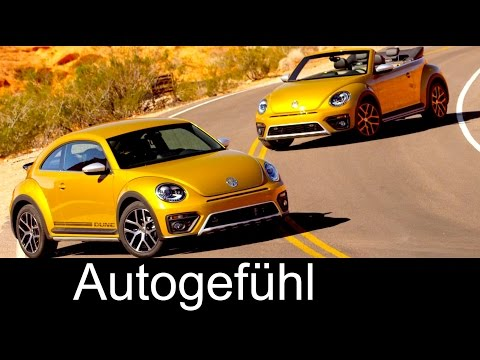 All-new VW Volkswagen Beetle Dune & Convertible Exterior/Interior Preview