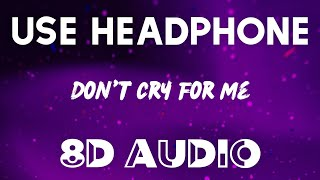 Alok, Martin Jensen & Jason Derulo - Don't Cry For Me (8D AUDIO)