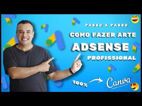Arte no CANVA Para Blog Adsense de Qualquer Nicho para Monetizao ou ADX