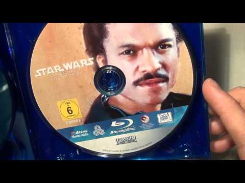 Unboxing [Star Wars - Complete Saga] BluRay german