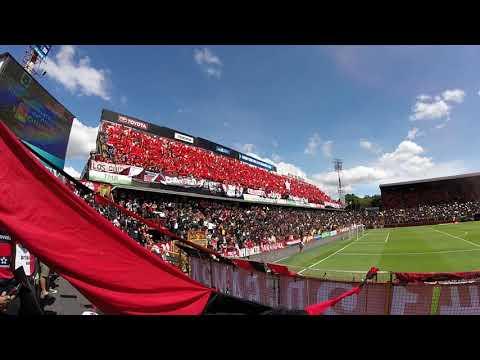 """Recibimiento LDA VS Heredia"" Barra: La 12 • Club: Alajuelense"