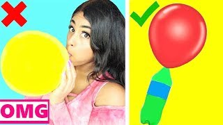 I TRIED BALLOON LIFE HACKS to see if they work! by 5 Minute Crafts