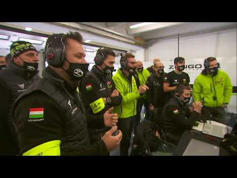 WTCR 第4戦ハンガリー(ハンガロリンク)レース2のハイライト動画