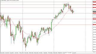 DAX30 Perf Index Dax Technical Analysis for the week of August 21, 2017 by FXEmpire.com
