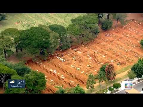 SP1 fala sobre falta de EPIs em cemitérios