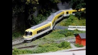 Nゲージ鉄道模型マイクロエース近鉄23000系伊勢志摩ライナー自宅レイアウト運転会