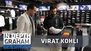 Virat Kohli: My personal Puma collection, studio tour