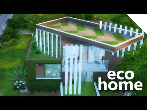 The Sims 4 Build | ECO HOUSE