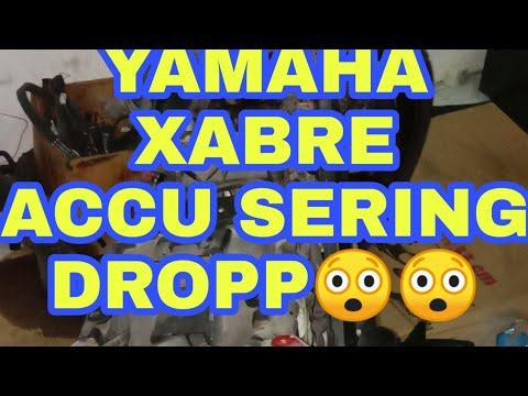 Yamaha Xabre pengisian accu dropp atasi pakai kiprok yamaha n max #yamaha #xabre #kiprok #pengisian