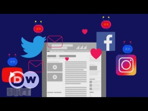 Manipulative social bots   DW English