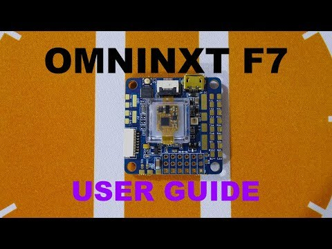 Airbot OMNINXT F7 Flight-Controller - User Guide - How-to