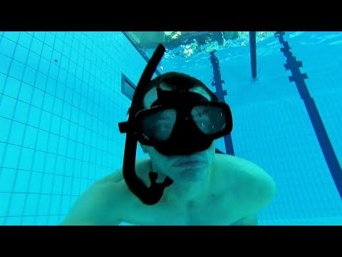 Download How to use a snorkel for diving down underwater Mp4 HD Video and MP3