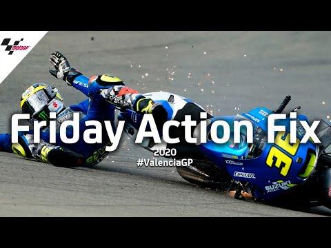 MotoGP バレンシアGP 中上貴晶がトップタイムを出して好調な滑り出しの金曜日ダイジェスト動画