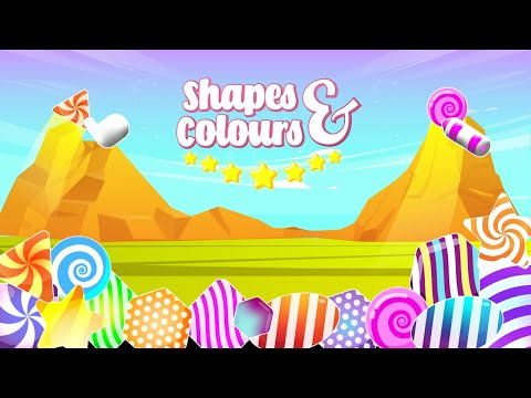 Video of Shapes & Colors Nursery Games