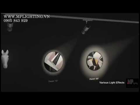Đèn LED Chiếu Tranh Zoom