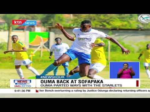David Ouma has been unveiled as Sofapaka's sporting Director
