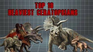 Top 10 Heaviest Ceratopsians - Dinosaur Documentary 2019 ( Animal Documentary ) 1# Planet
