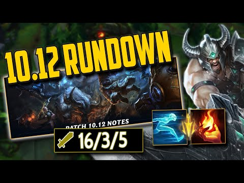 CHINESE Tryndamere is STILL OP & Patch 10.12 full rundown