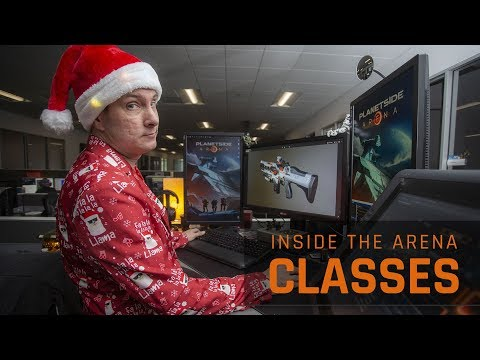 PlanetSide Arena Dev Series 'Inside the Arena' Takes a Look at Classes