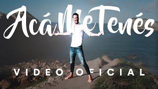 Rodrigo Tapari Acá Me Tenés Videoclip Oficial