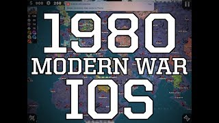 World Conqueror 4 Modern War 1980 Conquest Map and Scenario Maps
