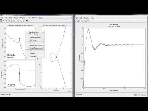 Control System Toolbox - анализ и синтез систем управления для MATLAB