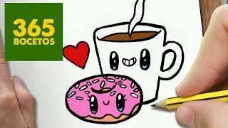 Como Dibujar Nutella Y Pan Enamorados Kawaii En Paint 123vid
