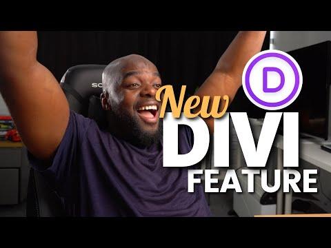New Divi Feature | Divi Presets