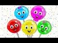 Lollipop Finger Family + More Nursery Rhymes & Kids Songs - HooplaKidz