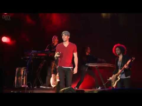 Enrique Iglesias video No me digas que no - Estadio Geba 2015
