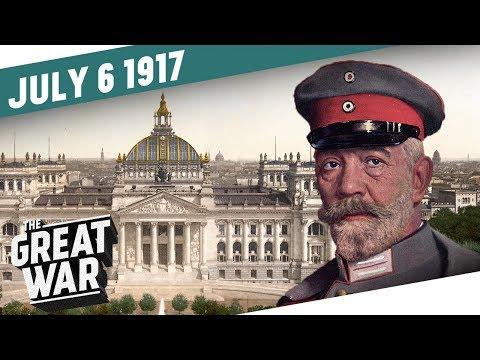 Zmatky v německém parlamentu - Velká válka