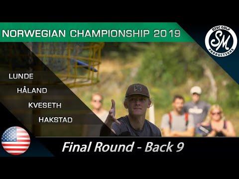 NDGC 2019 | Final Round Back 9 | Lunde, Kveseth, Håland, Hakstad