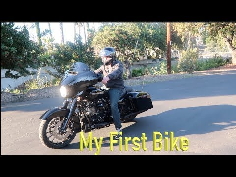 My First Motorcycle- Harley Street Glide Special