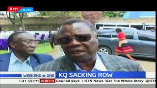 COTU Secretary General, Francis Atwoli condemns sacking of KQ employees