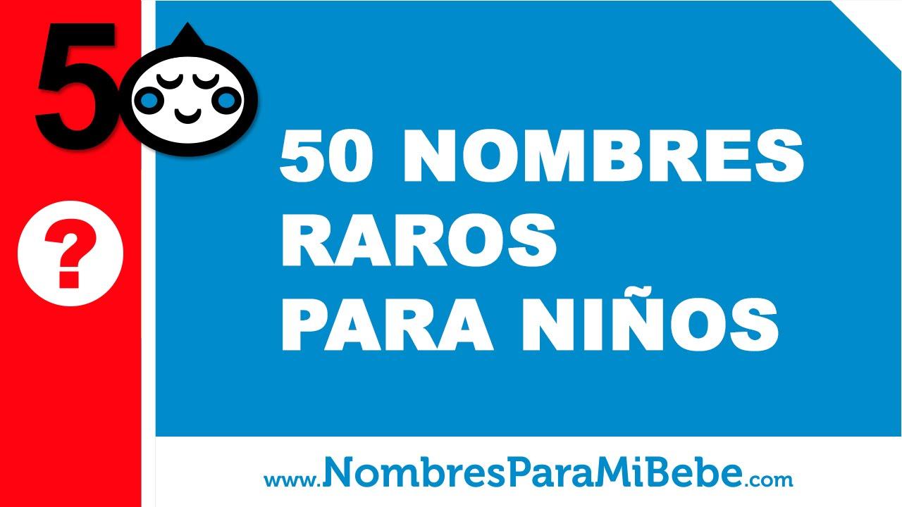 50 nombres únicos, raros, exóticos y poco frecuentes para niños - www.nombresparamibebe.com