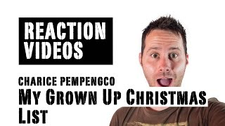 Charice Pempengco - My Grown up Christmas List at Rockefeller | REACTION