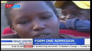Form One Admission: Nakuru girl denied admission,because she could not raise required fees