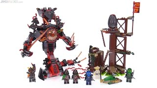 LEGO Ninjago Dawn of Iron Doom review! 70626
